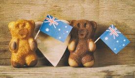 Hintergrund für australischen Tag Lizenzfreie Stockbilder