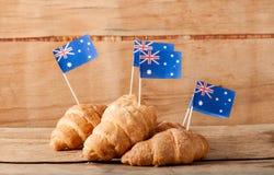 Hintergrund für australischen Tag Stockbilder