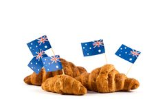 Hintergrund für australischen Tag Lizenzfreie Stockfotografie