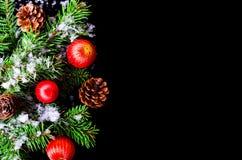Hintergrund für das neue Jahr oder den Tag von Sankt Nikolaus Lizenzfreie Stockbilder