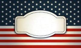 Hintergrund für den 4. Juli lizenzfreies stockfoto