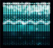 Hintergrund für die Show der Kreise der verschiedenen Farben Stockfotos