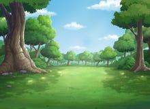 Hintergrund für Dschungel und natürliches tagsüber Lizenzfreies Stockbild