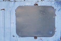 Hintergrund für eine Einladungskarte oder einen Glückwunsch Ein graues Rechteck Vertikale Streifen Lizenzfreie Stockfotografie