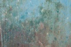 Hintergrund für eine Einladungskarte oder einen Glückwunsch Farbe auf Metalloberfläche Lizenzfreie Stockfotos