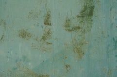 Hintergrund für eine Einladungskarte oder einen Glückwunsch Farbe auf Metalloberfläche Lizenzfreie Stockfotografie