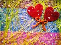 Hintergrund für eine Grußkarte für das festliche Konzept des Heilig-Valentinsgrußes für Valentinstag lizenzfreie stockbilder