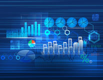Hintergrund für Geschäft stock abbildung