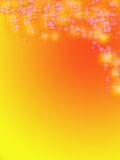 Hintergrund für Grußkarte Lizenzfreies Stockbild
