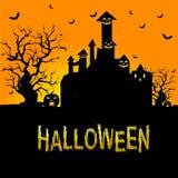 Hintergrund für Halloween-Feiern lizenzfreie abbildung