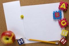 Hintergrund für kreatives - Bildung stockfoto