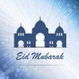Hintergrund für moslemischen Gemeinschaftsfestival-Vektor Lizenzfreie Stockfotos