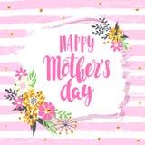 Hintergrund für Mutter ` s Tag lizenzfreie abbildung