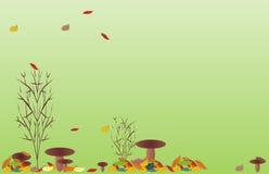 Hintergrund für Oktober Stockfoto