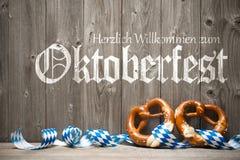 Hintergrund für Oktoberfest Stockfotos