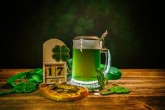 Hintergrund für St- Patrick` s Tag Lizenzfreies Stockfoto
