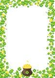 Hintergrund für Str. Patricks   Lizenzfreies Stockbild