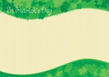 Hintergrund für Tag St. Patricks Lizenzfreies Stockfoto