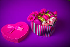 Hintergrund für Valentinsgrußmuttertag Ostern mit Liebe Stockfotografie