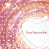 Hintergrund für Valentinstag Lizenzfreie Stockfotos