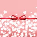Hintergrund für Valentinstag Lizenzfreies Stockfoto