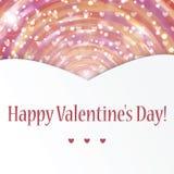 Hintergrund für Valentinstag Stockfotografie