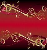 Hintergrund für Valentinstag Stockbild