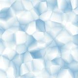 Abstrakter weißer blauer Facettenhintergrund Stockbild