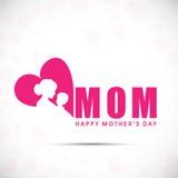 Glücklicher Mutter-Tag lizenzfreie abbildung