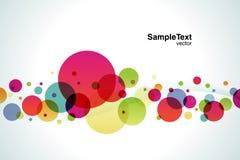 Hintergrund-Farben-Luftblase Lizenzfreies Stockfoto