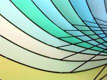 Hintergrund - Farben u. Zeilen Stock Abbildung