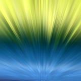 Hintergrund - farbige Explosion stock abbildung