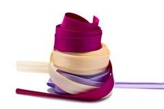 Hintergrund farbige Farbbänder Stockfotos