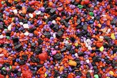 Hintergrund farbige Steine Stockfotos