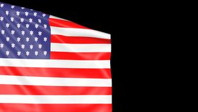 Hintergrund-Flagge USA