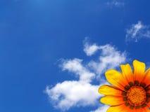Hintergrund: Frühlings-Himmel Lizenzfreie Stockfotos