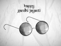 Hintergrund Gandhi Jayanti Lizenzfreie Stockfotos
