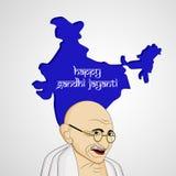 Hintergrund Gandhi Jayanti Stockfoto