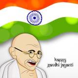 Hintergrund Gandhi Jayanti Stockbilder
