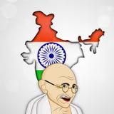 Hintergrund Gandhi Jayanti Stockfotos