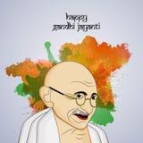 Hintergrund Gandhi Jayanti Lizenzfreies Stockbild