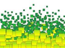 Hintergrund gebildet aus Lots Quadraten heraus Lizenzfreie Stockfotografie
