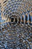 Hintergrund gebildet mit Metall Lizenzfreie Stockfotografie