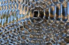 Hintergrund gebildet mit Metall Lizenzfreie Stockbilder