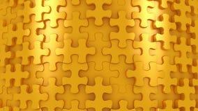 Hintergrund gebildet von beweglichen Puzzlespielen stock abbildung
