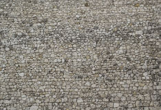 Hintergrund gebildet von den weißen Steinen Stockfoto