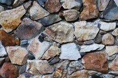 Hintergrund gebildet von den weißen Steinen Lizenzfreie Stockfotografie