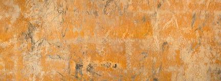 Hintergrund gebrochene schmutzige alte Wand des gemalten glatten Gipses Stockbilder