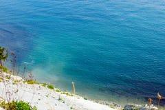 Hintergrund Gelendzhik Schwarzen Meers stockbild