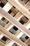 Hintergrund gemacht vom Holz. Lizenzfreie Stockfotos